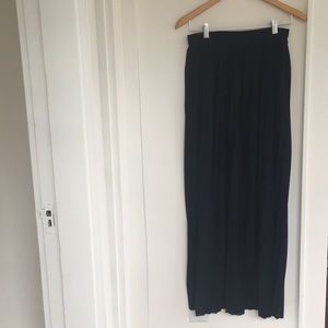 J. Crew Pleated Maxi Skirt